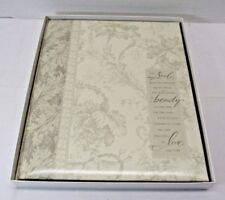 Photo Scrapbook HALLMARK Wedding Floral Vine Album WCA2703
