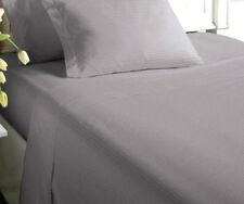 Classic Home 300 Thread Woven Stripe Sheet Set Full Sz Graphite By MorganNIP