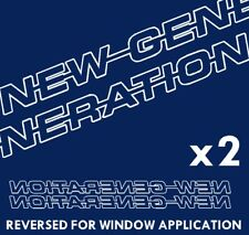 NEW GENERATION Decals / stickers - Scania
