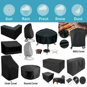 Garden Patio Yard Furniture Cover Waterproof For Rattan Table Chairs BBQ Outdoor