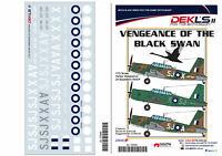 1/72 Decals Vultee 'Vengeance of the Black Swan' - 25 Squadron DEKL's II