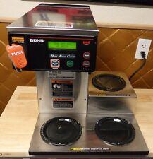 BUNN Axiom DV-3 3 Pot Automatic Commercial Coffee Brewer Machine 38700.0009