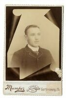 Gettysburg PA Memorial Cabinet Card Photograph by Levy Mumpher