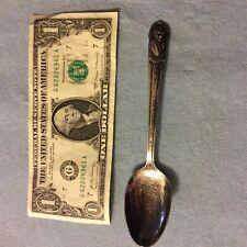 Vintage Presidential Spoon-William Harrison-Silver Plate Wm Rogers Mfg Co