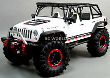 RC AXIAL JEEP Truck Wheels METAL 2.2 ROCK CRAWLER Aluminum BEADLOCK Rims W/tires