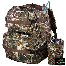 DRAKE WATERFOWL DELUXE WALK-IN BACK PACK DAY BLIND BAG HIKING MAX-5 CAMO XL