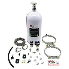 NX Nitrous System MainLine Wet 50-150 hp 10 lb. Bottle White EFI Kit ML2000