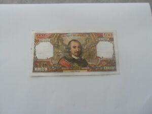 billet 100 francs corneille 1977 d.1048