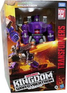 """Transformers War For Cybertron Kingdom 8""""Figure Leader Class Galvatron In Stock"""