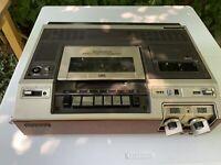 Rare Vintage Magnavox Model VH8200BR01 Top Load VCR VHS Video Cassette Recorder