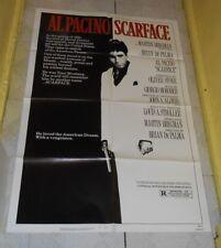 original SCARFACE one-sheet poster Al Pacino