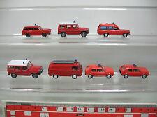 ai735-1 #7x Wiking H0 Car / Transporter Fire Brigade VW : VOLKSWAGEN Golf etc.