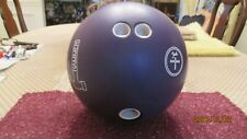 New listing Used Hammer Fab Purple  Urethane Bowling Ball - 16lbs  Just Resurfaced Rare!