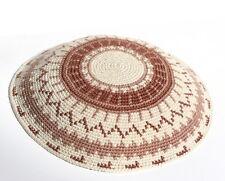 Knitted KIPPAH Yarmulke Yarmulka Crochet Kippa Kipa Yamaka Jewish Hat, Judaica