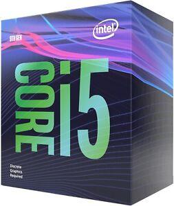 Intel Core i5 9400F BOX 6x 2.90GHz CPU mit Kühler 1151 Gaming Prozessor 6/6