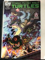 Teenage Mutant Ninja Turtles/Ghostbusters #1 Awesome Con Variant IDW VF/NM