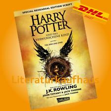 HARRY POTTER und das verwunschene Kind Band 8 ++ J. K. Rowling Teil 1 u. 2  Buch