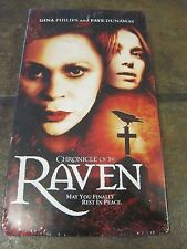 CHRONICLE OF THE RAVEN (VHS, 2005), NEW, SEALED