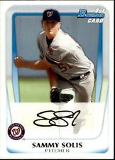 2011 Bowman Prospects Baseball #BP106 Sammy Solis