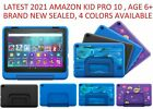 """Amazon Fire 10 Kids Pro 10.1"""" Tablet 32GB age 6+ Blue Doodle Intergalactic Black"""