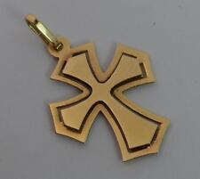 14 Carat Yellow Gold Mens or Ladies Cross Pendant P1993