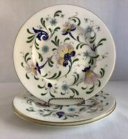 "Vintage, Coalport Bone China ""PAGEANT"" 8"" Salad/Dessert Plates - Set Of 3"