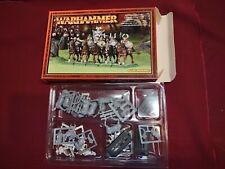 Warhammer Fantasy Marauder Horsemen Metal Oop Complete Nib