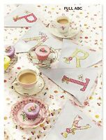 PARTY TIME ABC     -    CROSS  STITCH   PATTERN  ONLY   R90M2
