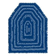 Tattered Lace Melocotón Sorbete Rasgado Borde Etiquetas artesanías Die Set TLD0175-libre de Reino Unido P&p