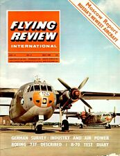 FLYING REVIEW INTL MAY 66 XB-70 VALKYRIE_B737_CL-84_RoCAF_CL-215_WW2 PZL VINTAGE