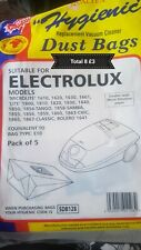 Electrolux hoover bags x8 new