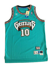 MIKE BIBBY Vancouver Grizzlies Adidas Swingman NBA blue Jersey #10 Size L