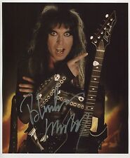 Blackie Lawless WASP SIGNED Photo 1st Generation PRINT Ltd 150 + Certificate / 2