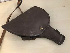 Collectible Brown Holster Hunting With Shoulder Strap