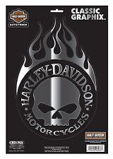 "HARLEY-DAVIDSON étiquette "" Willie G.flamme "" pour voiture / MOTO cg-3279 GRAND"