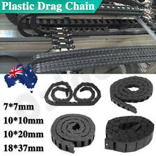 Cable Carrier Drag Chain Plastic Towline Machine Tool Nested 7*7 10*10 10*20