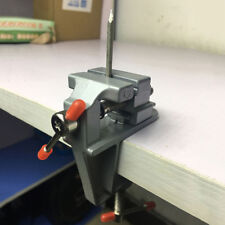 """Miniature Small 3.5"""" Aluminum Jewelers Hobby Clamp On Table Bench Vise Tool Vice"""