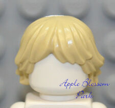 NEW Lego Minifig TAN HAIR - Female/Girl/Luke Minifigure Light Blonde Head Gear