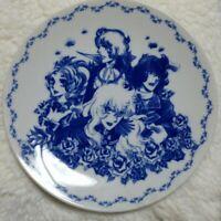 TACHIKICHI Plate THE ROSE OF VERSAILLES OSCAR Written by Riyoko Ikeda Japan Rare