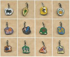 1 clip on Zodiac Charm- enamelled- 12 to choose from