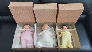 "Mattel Rosebud Vintage 1977 Doll Little Lady 9980 Summer Sunshine 9982 Boxed 15"""