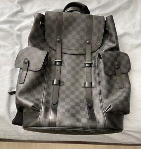 Louis Vuitton Christopher PM Damier Backpack 100% Authentic