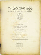 Golden Age Magazine #416 Aug 28 1935 Why Clergy Oppose Truth Watchtower Jehovah