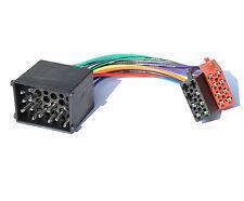 Bmw 3er e30 e36 e46 m3 8er e31 autoradio cable del adaptador Radio Adaptador ISO