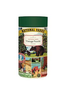 Cavallini - Vintage Jigsaw Puzzle - 1000 Pieces - National Parks of USA