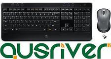 Logitech MK520 Wireless Keyboard Laser Mouse USB Receiver Cordless Desktop Combo