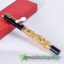 jinhao 8812 Luxury golden Dragon roller ball pen new