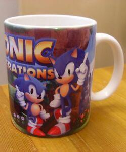 Sonic The Hedgehog SONIC GENERATIONS - Coffee MUG / CUP - Art - Mania Forces