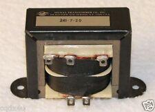 Signal Transformer Co. 120 Vac 20 Vac Center Tapped 2.8A Part # 241-7-20