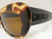 MOSCHINO By Persol M263 TORTOISE & BLACK PLASTIC FRAME NEW OUT IN STYLE Sexy